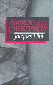 Anarchy and Christianism