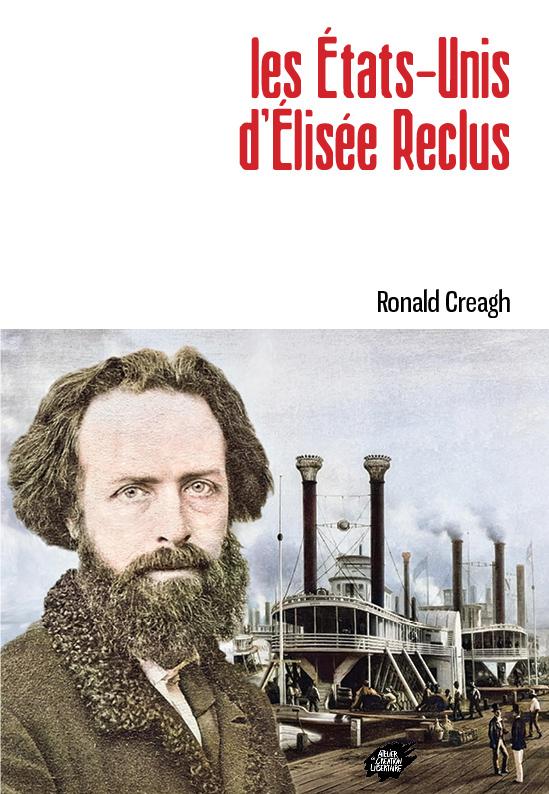 Couverture de Les États-Unis d'Élisée Reclus