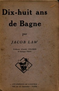 18 ans de bagne, éditions de l\'Insurgé, 1925