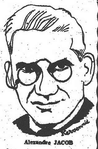 portrait de Jacob dans la République du Centre, avril 1951