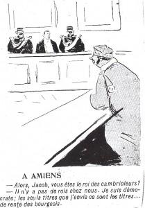caricature parue dans l\'Assiette au Beurre