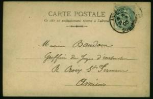 Carte postale mystère