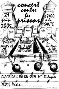 Travailleurs de la Nuit, concert parisien 21 juin 2005
