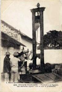 Une exécution au bagne guyanais