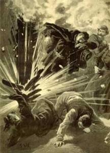 l\'explosion de la rue Saint Jacques à Paris attribuée au Belge Pauwels, 20 février 1894
