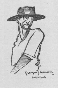 un fagot, dessin de Georges Jauneau 1928