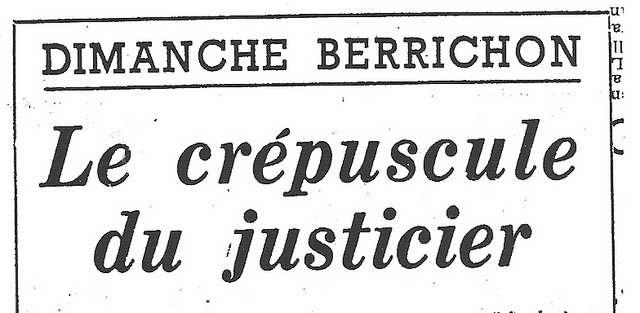 Franc Tireur 3 août 1954