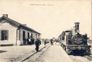 la gare de Greville vers 1900