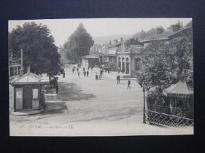 La gare d\'Epinal vers 1900
