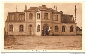 la gare de Pont Rémy
