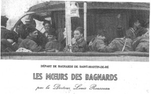 Les moeurs des bagnards, Le Crapouillot n30, 1955