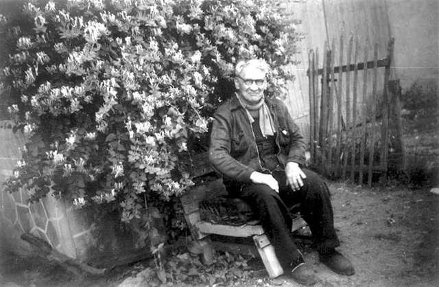 Jacob dans son jardin