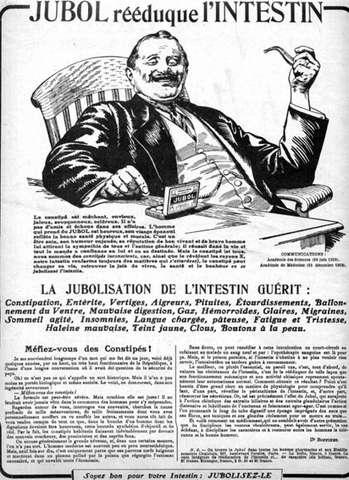 publicité pour le Jubol