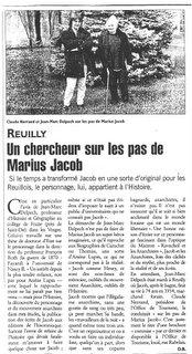 La Marseillaise 5 avril 2001