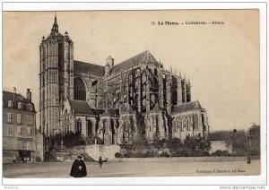la cathédrale Saint Julien du Mans