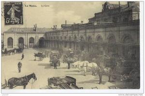 La gare du Mans