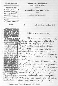 lettre du bagne