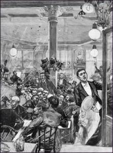 La bombe du café Terminus, Le Monde Illustré 17 février 1894
