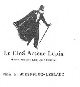 logo du papier à en-tête du Clos Lupin