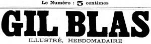 manchette de Gil Blas