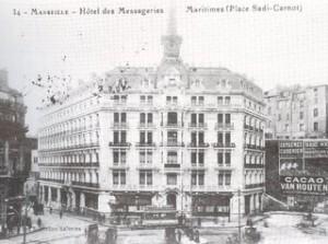 hôtel des Messageires Maritimes à Marseille