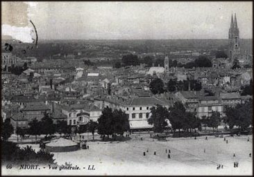 Niort vers 1900