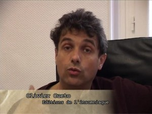 Olivier Cueto, éditions L\'Insomniaque
