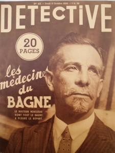 Détective, n°415, jeudi 8 octobre 1936