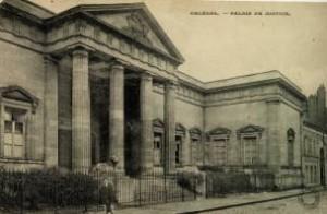 Le palais de justice d\'Orléans vers 1900