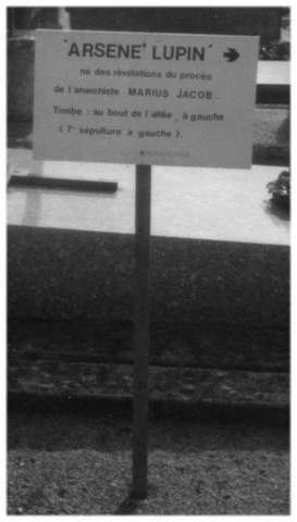 pancarte Arsène Lupin
