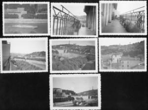 Lyon, vue du balcon des amis de Jacob, automne 1938