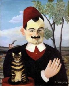 Pierre Loti par Henri Rousseau 1891