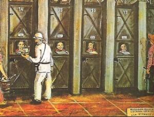 les cellules de la réclusion à Saint Joseph