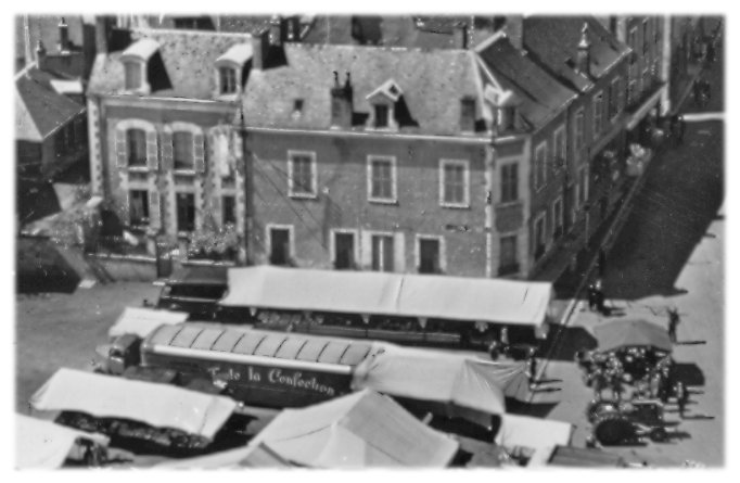 Reuilly, jour de marché
