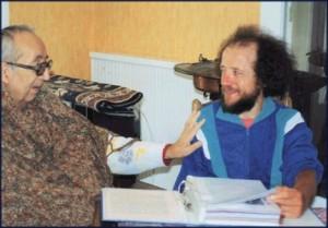 Rbert Passas et jean-François Amary, juin 1996