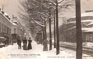 boulevard Beauvoisine à Rouen