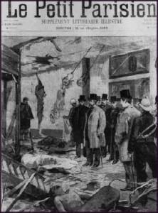 Rue des Bons Enfantys, Le Petit Parisien 19 novembre 1892