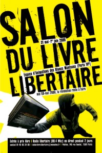 Salon du livre libertaire de Paris 31 mai - 1er juin 2008