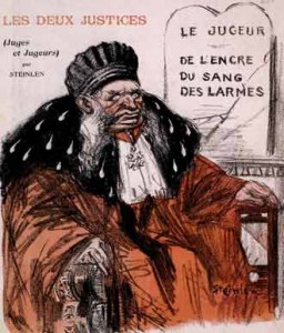 Assiette au beurre, 14 novembre 1903, dessin de Steinlen