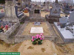 tombe de Marius Jacob (site de l\'OIT de Reuilly)