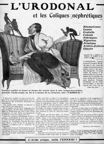 publicité pour l\'Urodonal