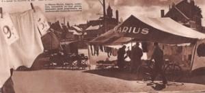 le barnum de Marius dans Voilà