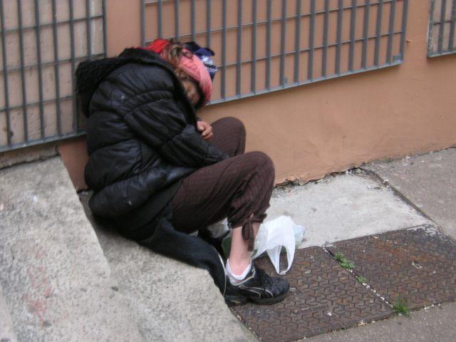 gens dans la rue