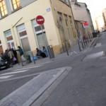 les gens de la rue à la rencontre