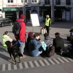 Université en grève place des Terreaux